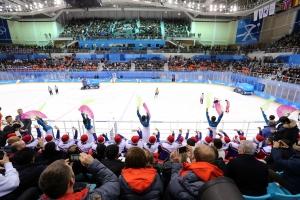 20180212 여자아이스하키 남북단일팀-스웨덴 (19)