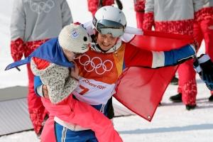 20180220 프리스타일 스키 여자 하프파이프 결승(은메달 프랑스 마리 마르티노)004